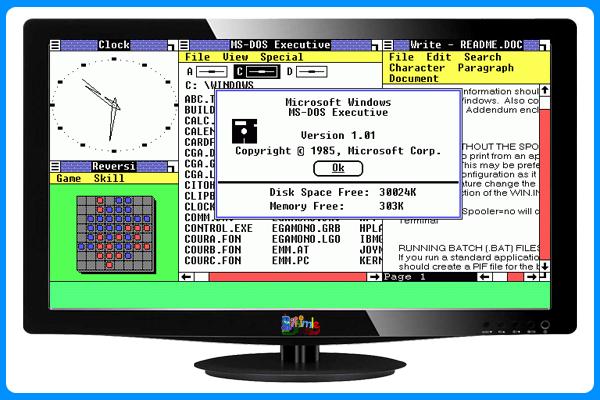 Windows 1.0 İşletim Sistemi,Bilişimle