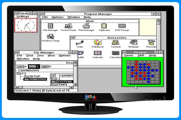 Windows 3.0 İşletim Sistemi,Bilişimle