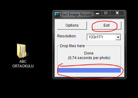 e-okul resim boyutu ayarlama