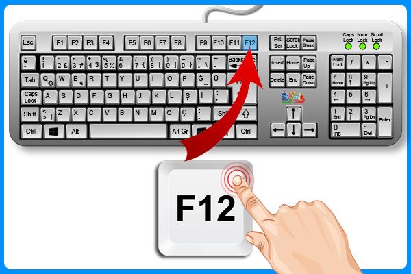 F12 Tuşu